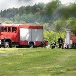 67-jähriger Pilot mit Motorflugzeug bei Schöngleina im Waldgebiet abgestürzt und tödlich verunglückt