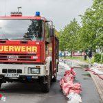 Land unter in Ilmenau und Teilen Thüringens nach starken Unwettern