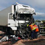 Schwerer Unfall am Stauende der A9 bei Eisenberg