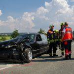 Mehrere Verletzte bei zwei Verkehrsunfällen in Bad Berka zur gleichen Zeit