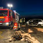 Frontalzusammenstoß im Weimarer Land fordert drei Schwerverletzte