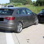 61-Jährige nach Unfall bei Rüdersdorf auf A4 leicht verletzt