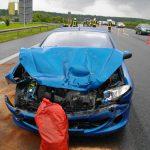 Unfall unter Alkohol auf der A9 bei Eisenberg