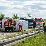 A4 nach mehreren Unfällen bei Eichelborn voll gesperrt