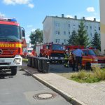 Personen wegen Brand in Wasunger Wohnblock evakuiert