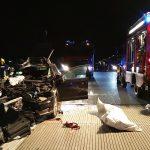 Verkehrsunfall mit getöteten Personen auf der A4 bei Gera