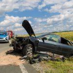 30-Jährige bei PKW-Überschlag nahe Napoleonstein schwer verletzt