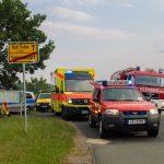 Zwei Schwerverletzte nach Unfall in Sonnendorf bei Bad Sulza