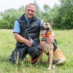 Polizei Gotha stellt GPS-Tracking für Fährtenberichte von Spürhunden vor