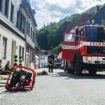 Wohnhausbrand in Sonneberger Altstadt ging glimpflich aus