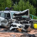 Drei Schwerverletzte nach Frontalzusammenstoß bei Sonneberg