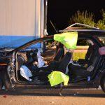 Fahrer tödlich verletzt: Auto fuhr bei Erfurt unter LKW-Auflieger