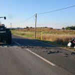 Tödlicher Unfall bei Meerane: Smart kollidiert frontal mit Traktor