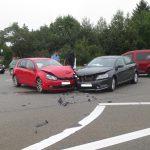 Erneuter Zusammenstoß auf der Kreuzung der B7 bei Weimar-Tröbsdorf