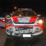 Fahrer von Notarzteinsatzfahrzeug bei Unfall in Weimar leicht verletzt