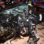 Zwei Schwerverletzte nach Unfall mit fünf PKW auf der A9