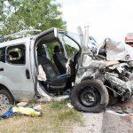Beifahrerin stirbt bei Frontalzusammenstoß auf der B7 bei Nohra