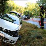 Vier Personen bei Unfall zwischen Heiligenstadt und Geisleden verletzt