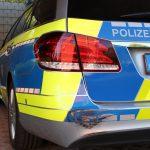 Verfolgungsjagd von Hessen nach Thüringen mit beschädigtem Streifenwagen