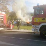 Auto in Jena-Lobeda abgebrannt