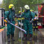 Gefahrgutzug probt Ernstfall in der Radiopharmazie Bad Berka