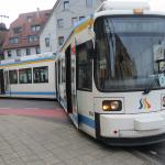 Verkehrsbeeinträchtigungen aufgrund entgleister Straßenbahn in Jena