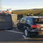 Vier Stunden Vollsperrung der A4 nach Unfällen bei Mellingen
