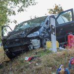 Eine Tote und mehrere schwer verletzte Kinder bei Unfall im Weimarer Land