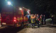 Suche nach abgestürzten Gleitschirmflieger bei Bad Berka