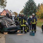 Junge Fahrerin überschlägt sich in Blankenhain und wird verletzt