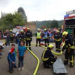 Viele Besucher beim Tag der offenen Tür der Feuerwehr in Bad Sulza