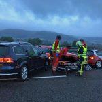 Verletzte und Vollsperrung nach Unfall auf A71 bei Meiningen