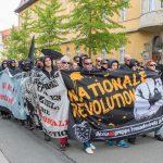 Acht Strafanzeigen gegen rechte Versammlungsteilnehmer in Weimar bei Demonstration