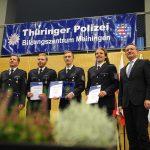 Thüringer Polizeisportler durch Innenminister in Meiningen geehrt