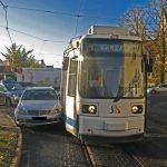 Straßenbahn beteiligt: Mehrere Verkehrsunfälle heute Morgen in Jena