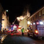 Polizei ermittelt 13-jährigen Verursacher nach Brand in Weida