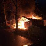 Bewohnerin nach Brand eines Einfamilienhauses in Bockstadt verletzt