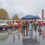 Freistaat Thüringen übergibt 32 Katschutzfahrzeuge an Hilfsorganisationen