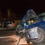 Fünf Verletzte nach Frontalzusammenstoß unter Alkoholeinfluss bei Weimar