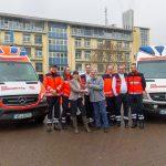 Übergabe eines neuen Rettungswagen in Blankenhain