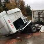 LKW-Unfall sorgt aktuell für Vollsperrung der A4 bei Mellingen