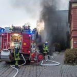 Mehrere Personen beim Brand einer Tiefgarage in Weimar evakuiert