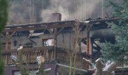 Zeugen nach Brand eines zweistöckigen Gartenhauses in Rudolstadt gesucht