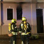 Person bei Wohnungsbrand in Amthorstraße in Gera gerettet
