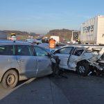 Acht Unfälle mit Massenkarambolage auf der A9 bei Schleiz