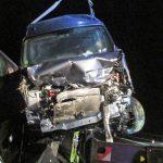 Verkehrsunfall auf der A38 bei Heringen mit neun Verletzten