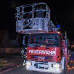 Großbrand im ehemaligen Gothano – Werk in Gotha
