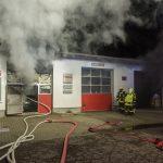 Hoher Sachschaden bei Werkstattbrand in Weimar