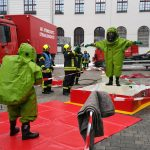 Gefahrguteinsatz im Justizzentrum Gera nach Fund von weißem Pulver