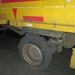 Reifenplatzer auf B7 bei Erfurt nicht bemerkt - Fahrer alkoholisiert
